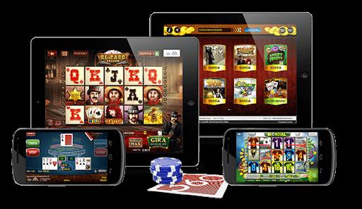 Slot Kasino dan Permainan Meja di Ponsel dan Tablet