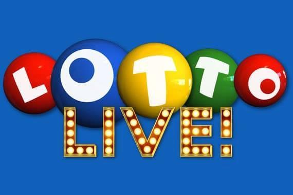 Undian lotre langsung ditayangkan di televisi untuk mendorong pembelian lotere.